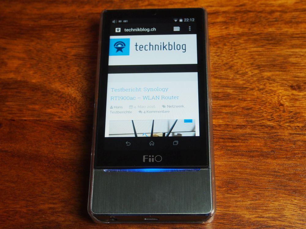 Fiio X7 - Android HiFi-Player