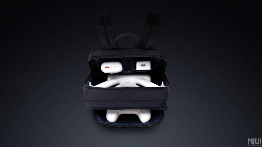 Xiaomi Mi Drone - passt auch einfach in einen Rucksack