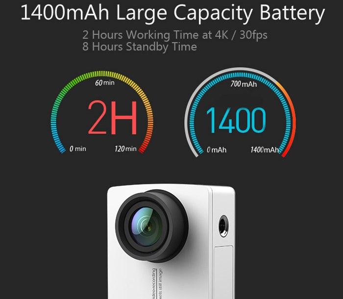 Xiaomi Yi 4K Battery