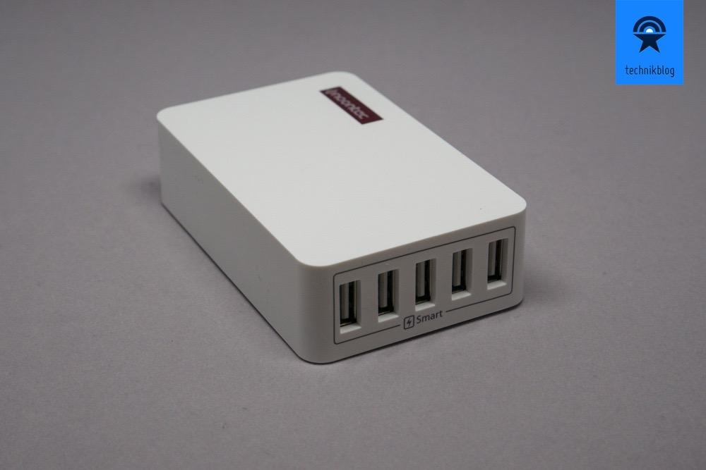 Noontec 50W 5-fach USB Netzteil