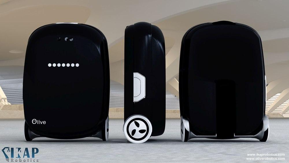Olive Robotics Reisekoffer