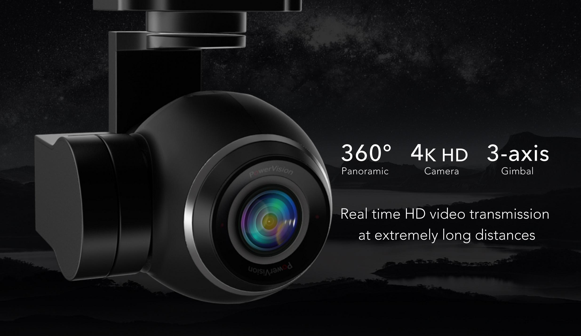 PowerEgg Kamera