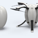 PowerEgg: Eiförmiger Quadcopter mit 360 Grad Kamera