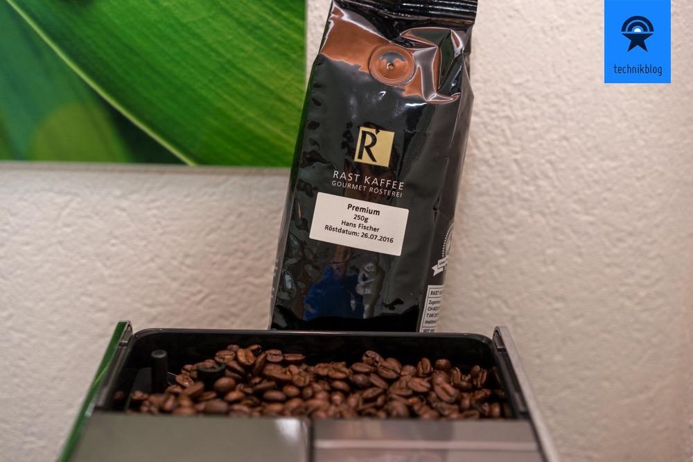 Bohnen von Rast Kaffee