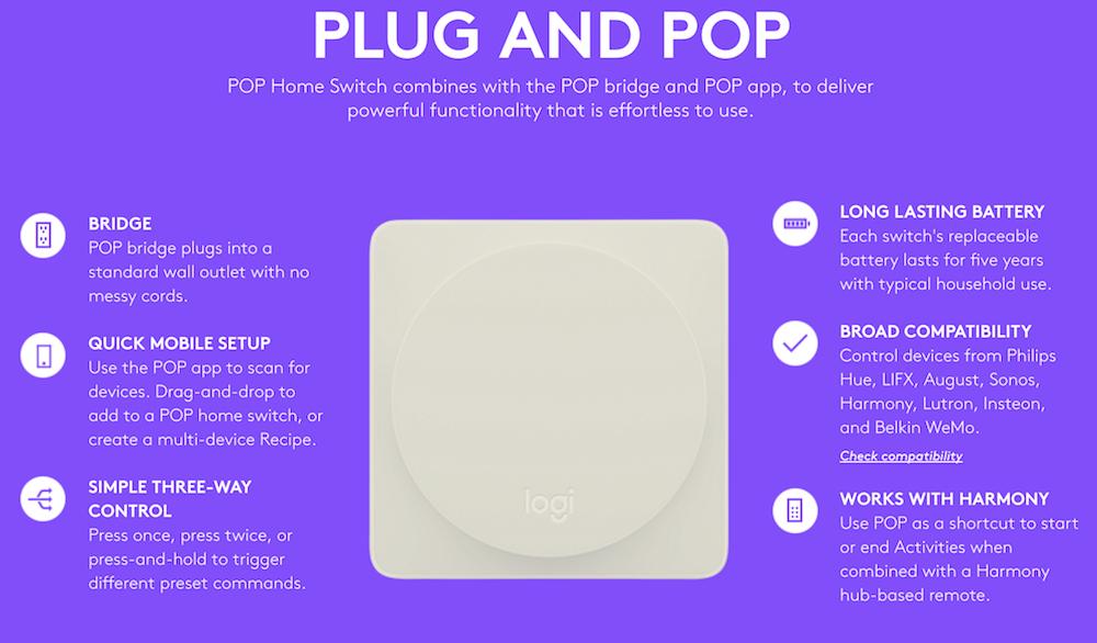 Logitech Pop Home Switch - Plug and Pop