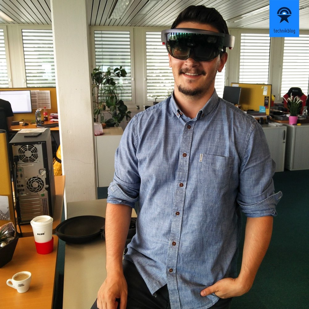 Microsoft HoloLens - der Renner im Büro