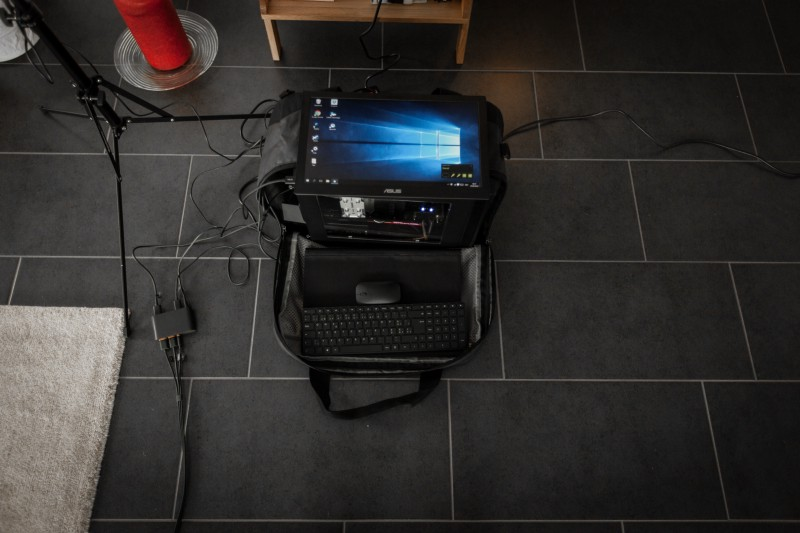 Mobile Setup der HTC Vive