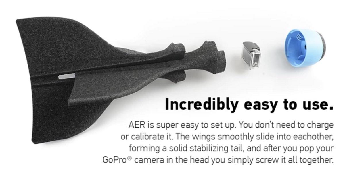 AER Aufbau mit GoPro im Kopf