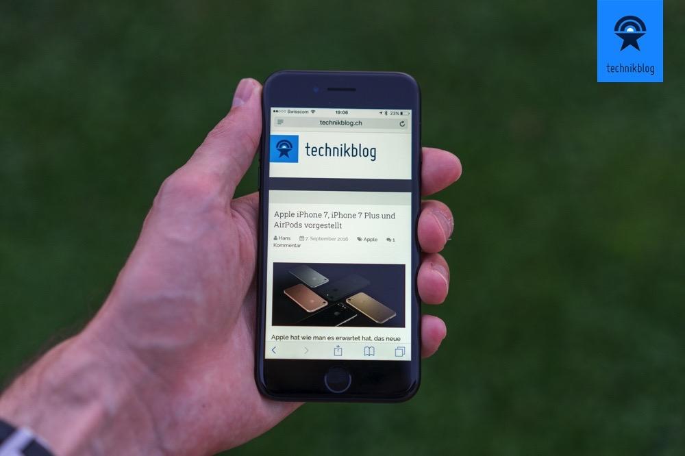 Apple iPhone 7 Review - Technikblog