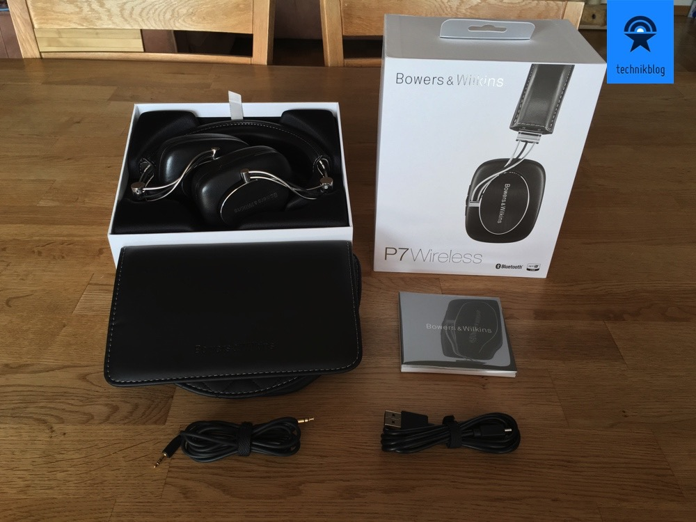 B&W P7 wireless - Lieferumfang