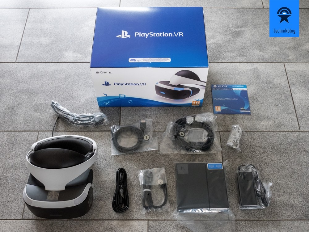Playstation VR - Lieferumfang
