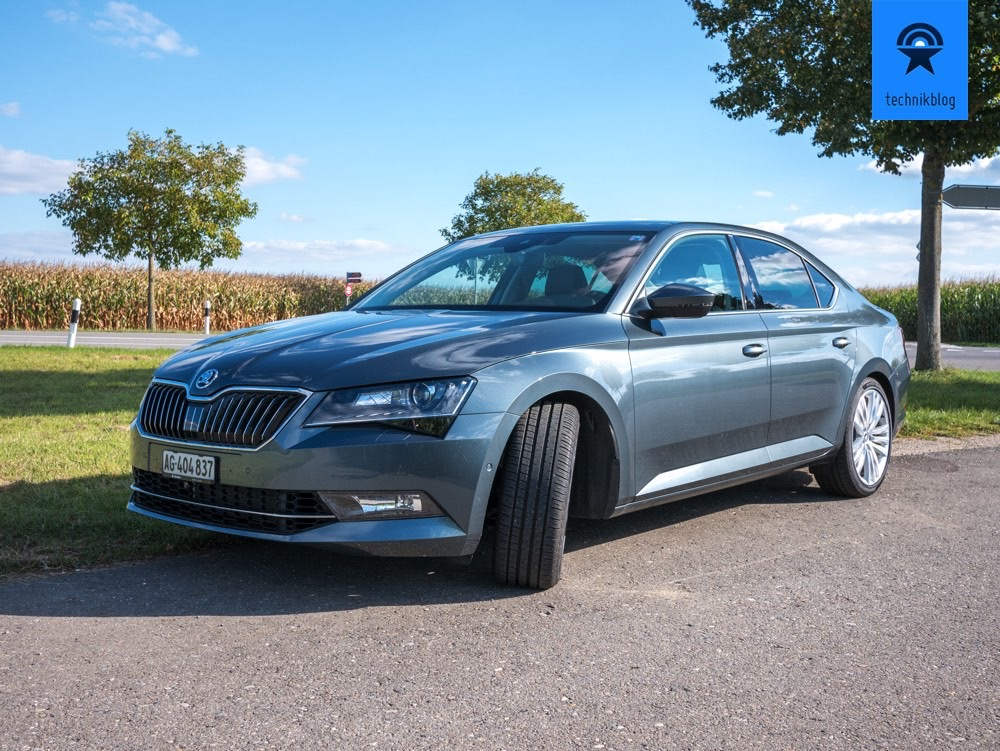 Skoda Superb mit Apple Carplay