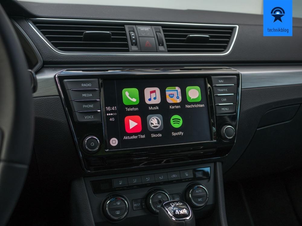 Apple Carplay im Skoda Superb