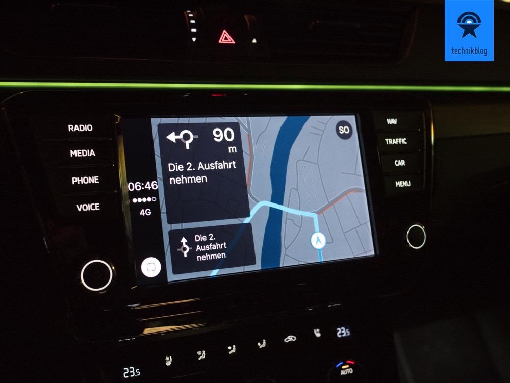 Carplay und Apple Maps