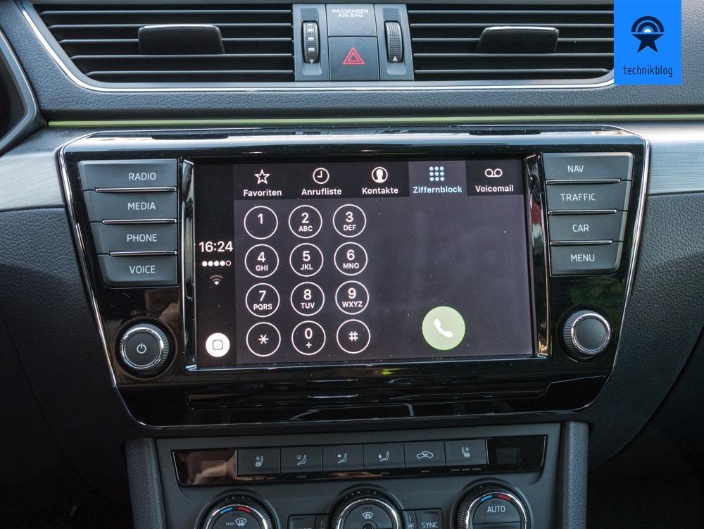 Apple Carplay - Telefonfunktion