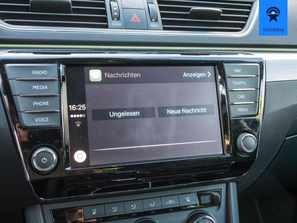 Carplay: Siri liest Nachrichten vor