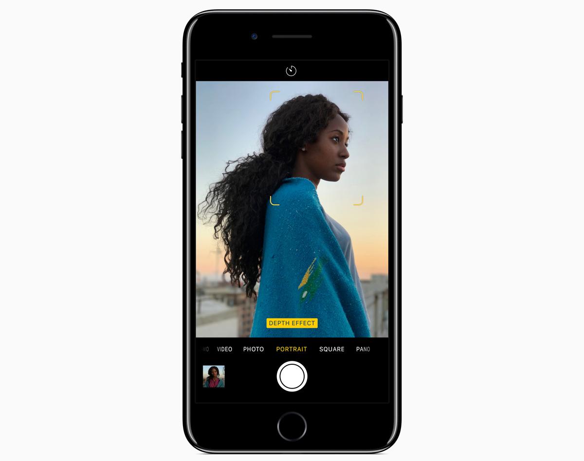 iPhone 7 Portrait Modus