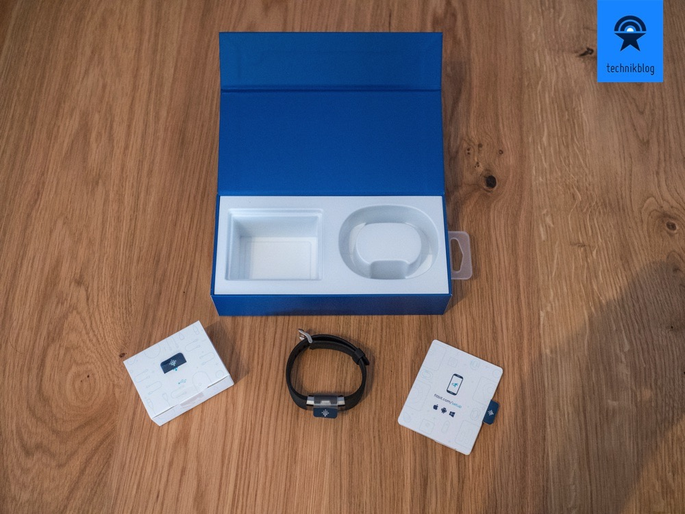 Fitbit Charge 2 Lieferumfang
