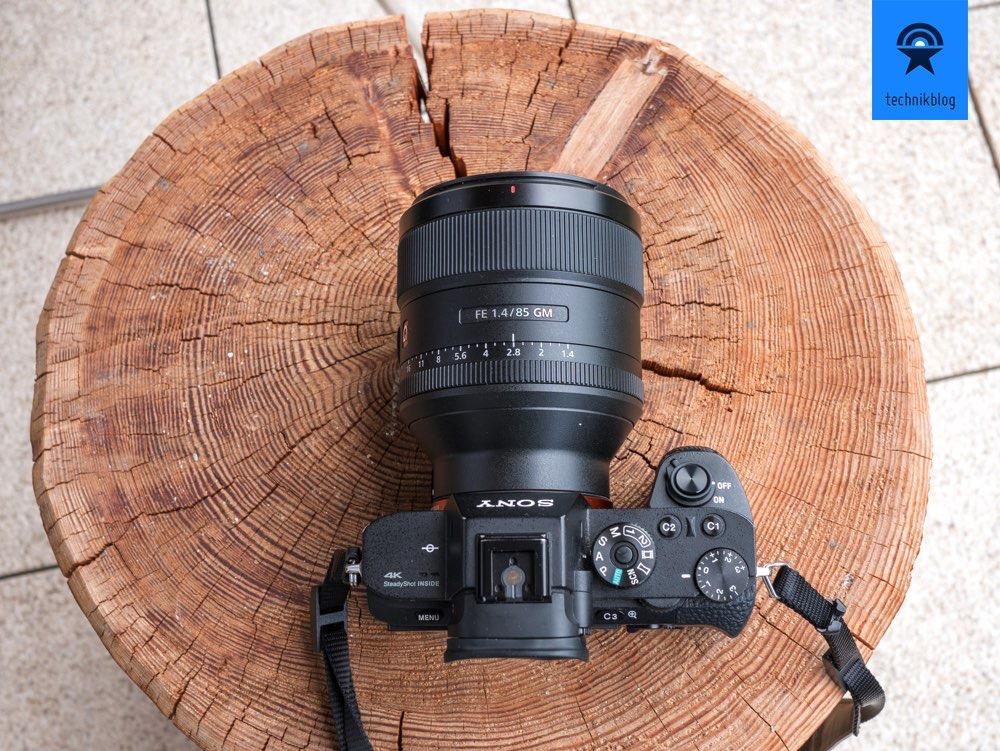 Sony Alpha 7 R II mit dem 85mm f/1.4