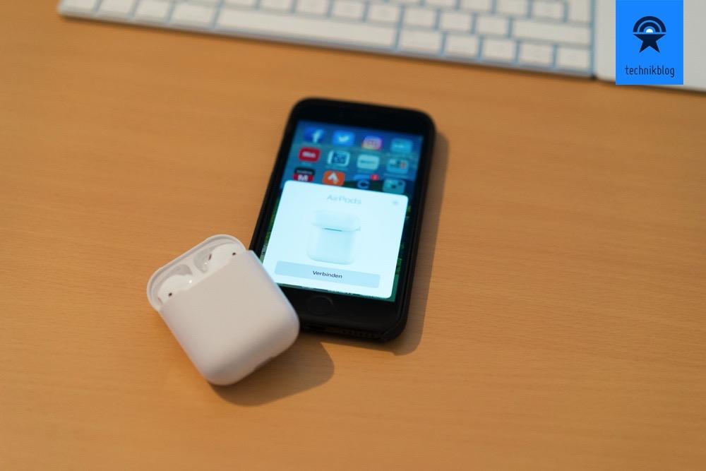 Apple AirPods - Kopfhörer zu pairen war noch nie so einfach