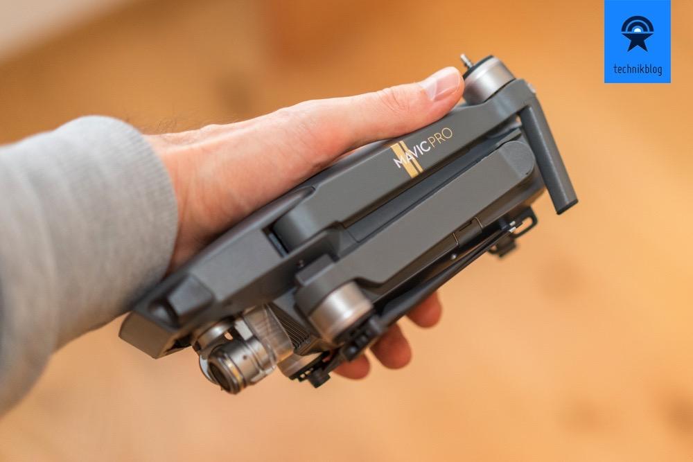 DJI Mavic Pro - handlich wie keine andere Drohne mit dem Leistungsausweis