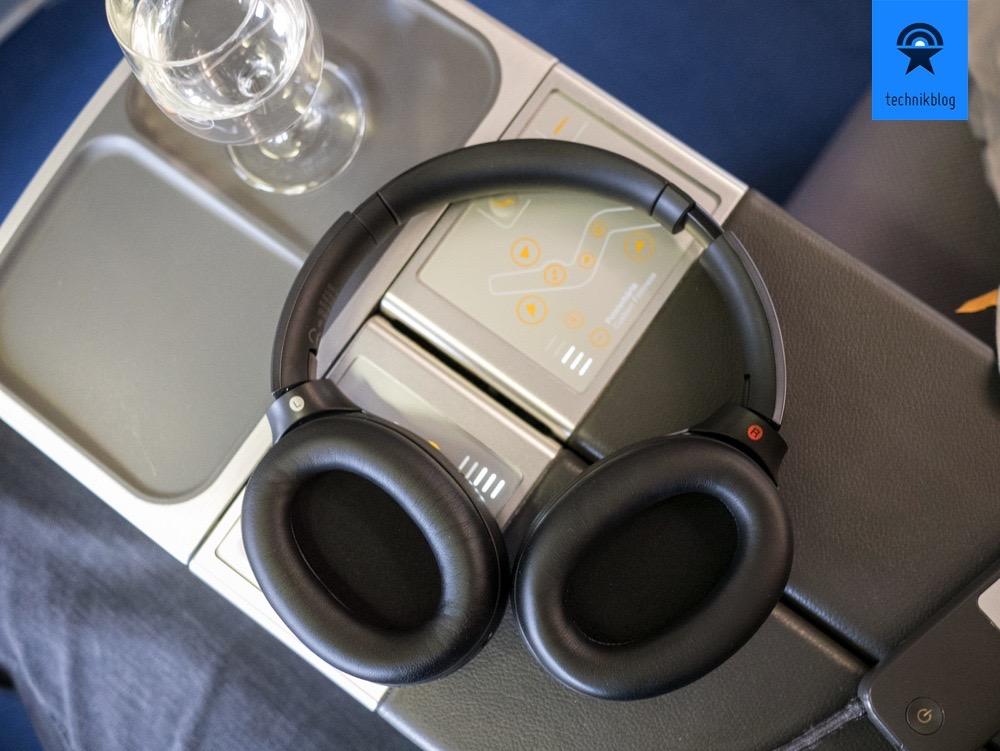 Ohrmuscheln am Sony MDR-1000X