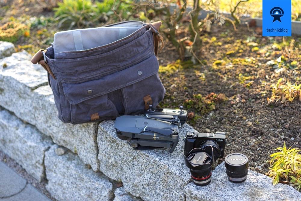 Technikblog Reise-Setup: DJI Mavic Pro, Panasonic GX80 - alles in der Pajass Safari Scout II