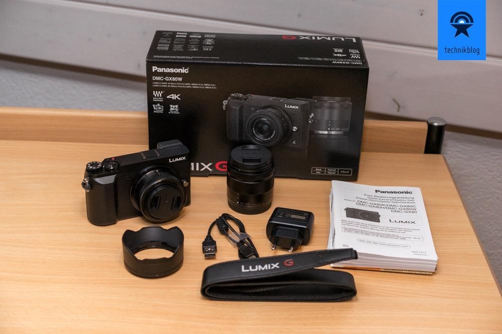 Panasonic DMC-GX80W Kit Lieferumfang