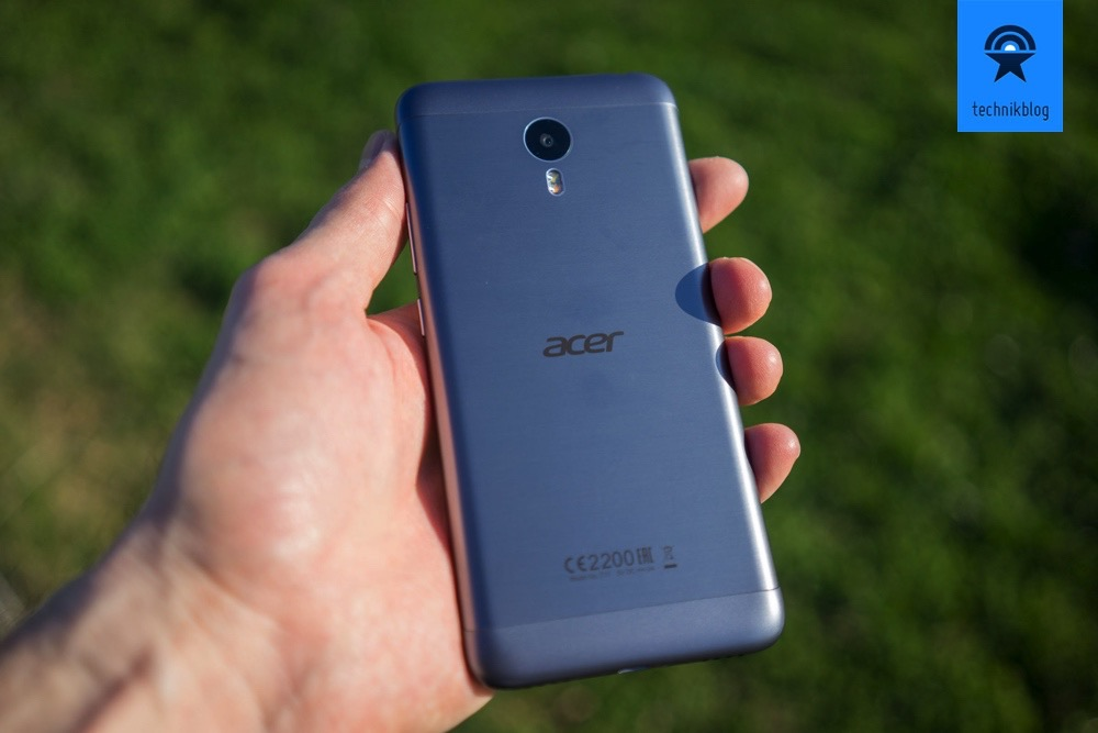 Acer Liquid Z6 Plus Rückseite