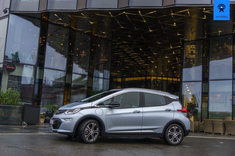 Der Opel im Ampera-e in Oslo