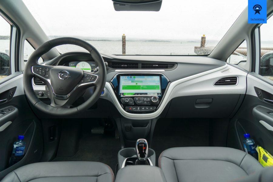 Opel Ampera-e: Das Cockpit