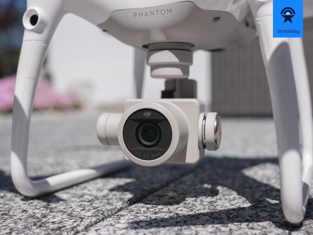 DJI Phantom 4 Pro mit der neuen Kamera