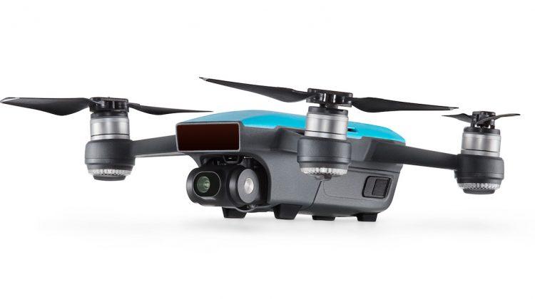 DJI Spark: Mini-Drohne mit Gestensteuerung vorgestellt