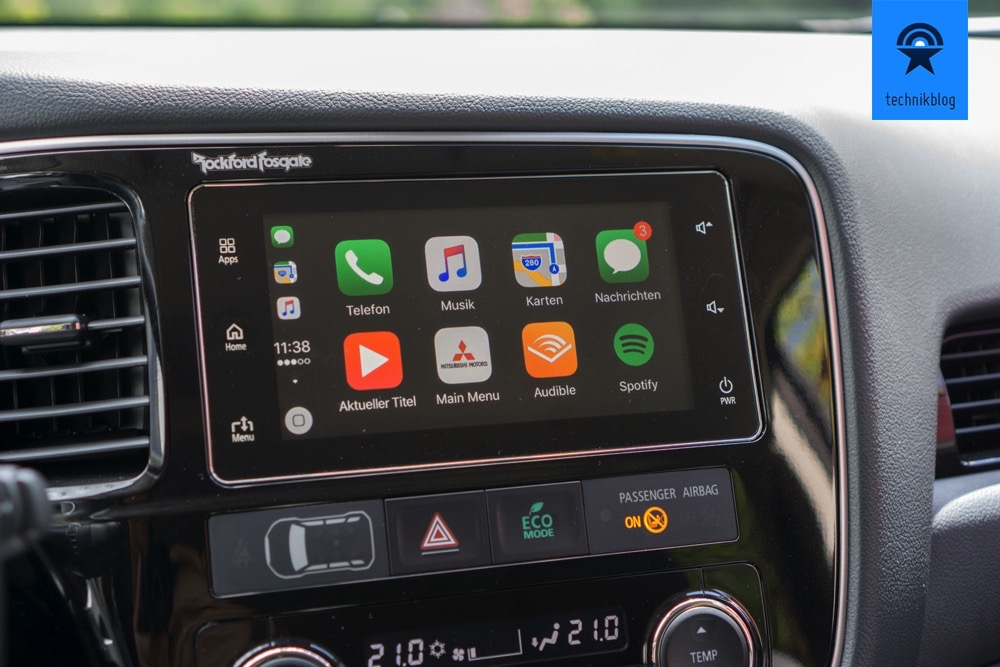 Apple Carplay im Outlander PHEV
