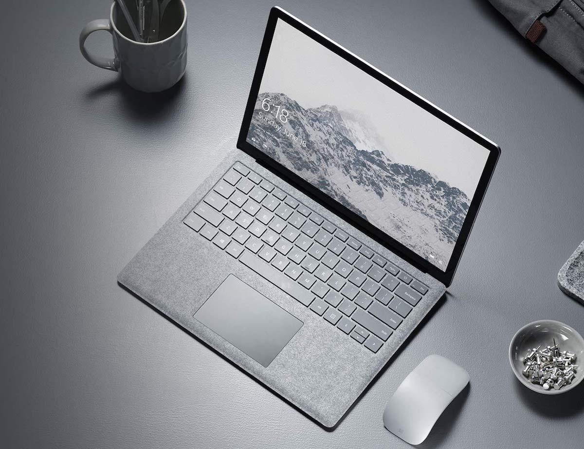 microsoft surface laptop mit windows 10s vorgestellt. Black Bedroom Furniture Sets. Home Design Ideas