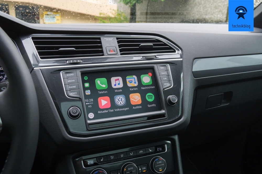 Apple Carplay im neuen VW Tiguan