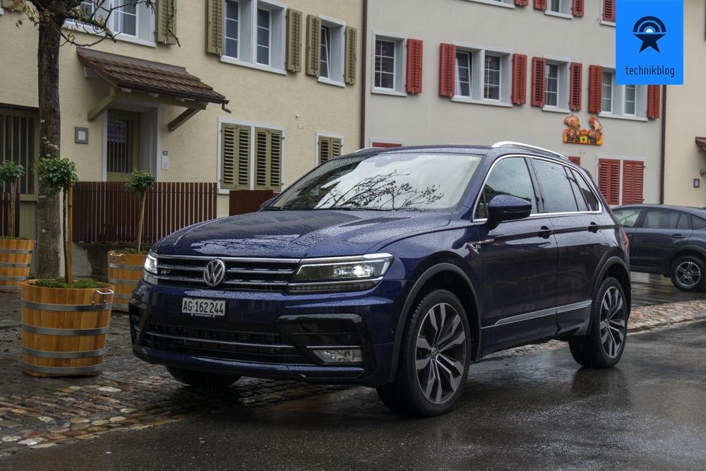 Der neue VW Tiguan - 2.0L R-Line 4Motion