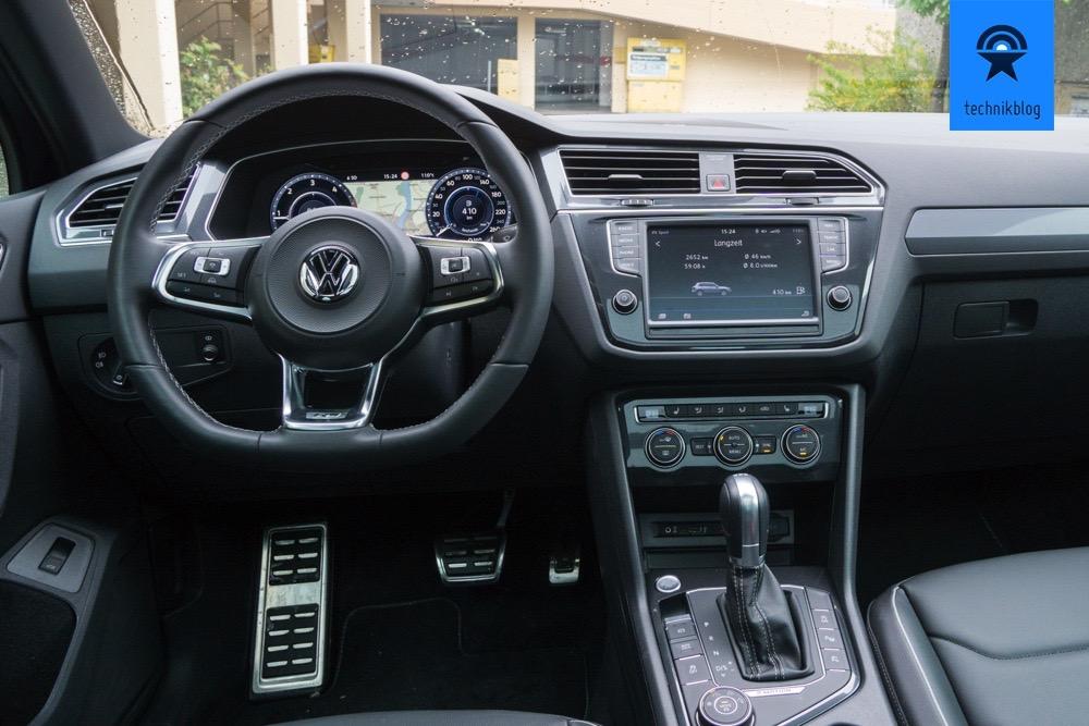 Cockpit des neuen VW Tiguan