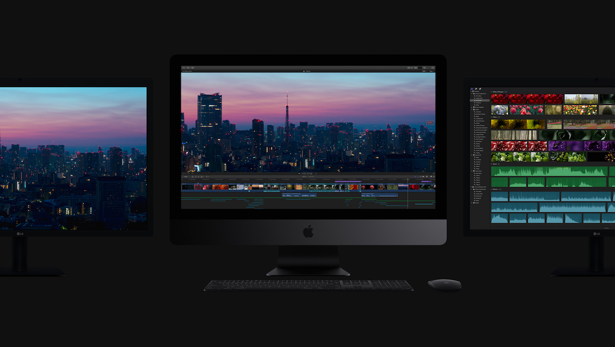 Apple iMac Pro Multiscreen