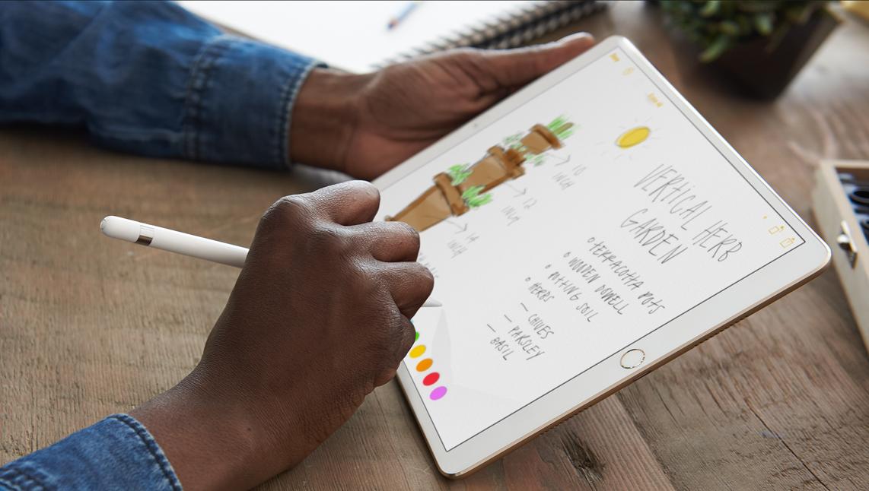 Handschriftliche Notizen und Schrifterkennung auf dem iPad Pro mit iOS 11