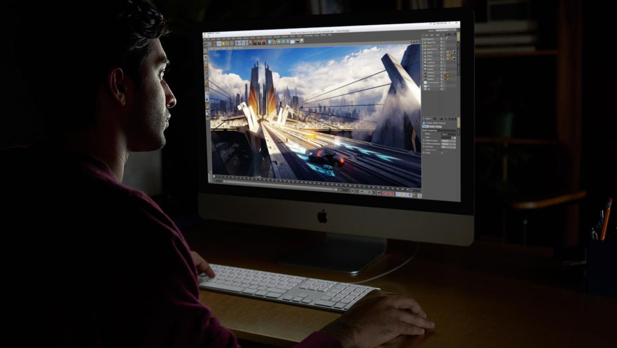 iMac Pro im Einsatz