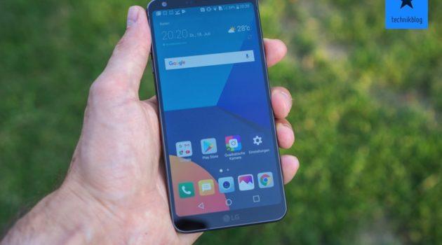 Testbericht: LG G6 – handliches 5.7″ Smartphone im 18:9 Format