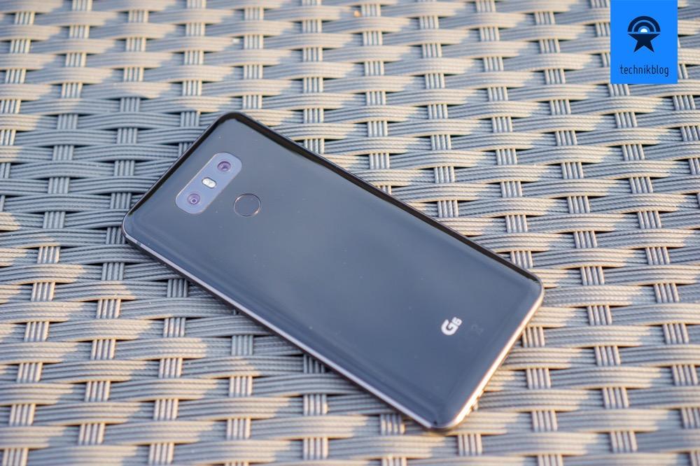 LG G6 - On/Off Button mit Fingerabdrucksensor auf der Rückseite