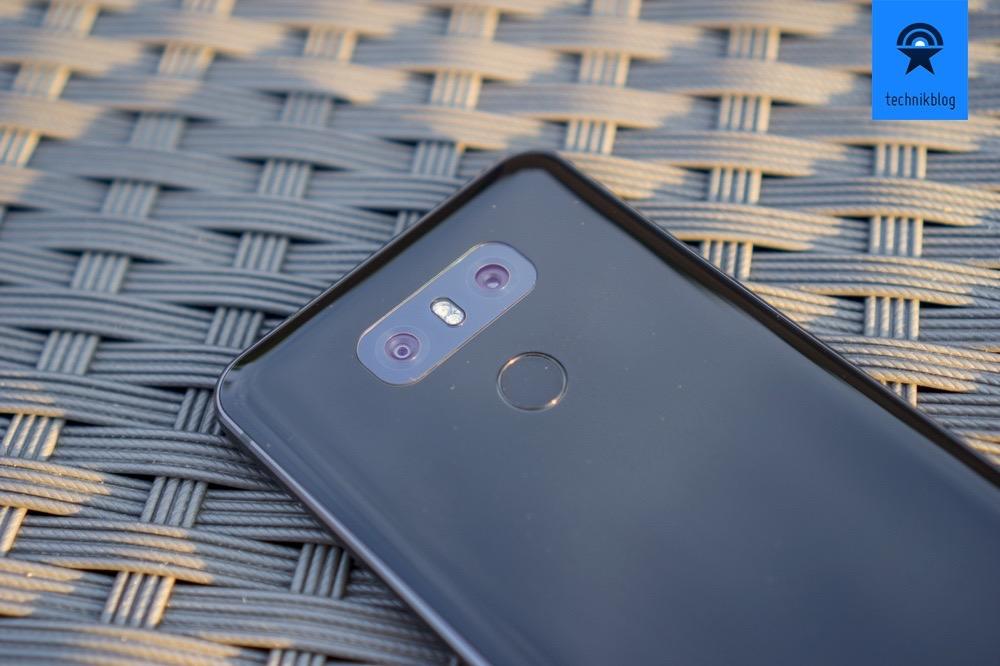 LG G6 Dual-Kamera auf der Rückseite