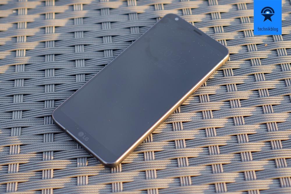 LG G6 zeigt die wichtigsten Infos immer abgedunkelt an.