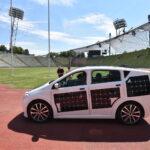 Testfahrt: 4 x 400m im Sion von Sono Motors