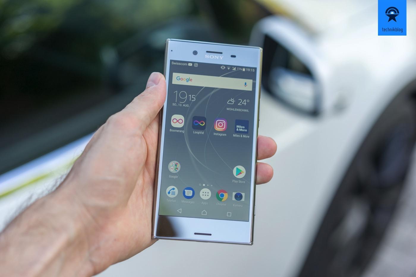 Sony Xperia XZ Premium im Test