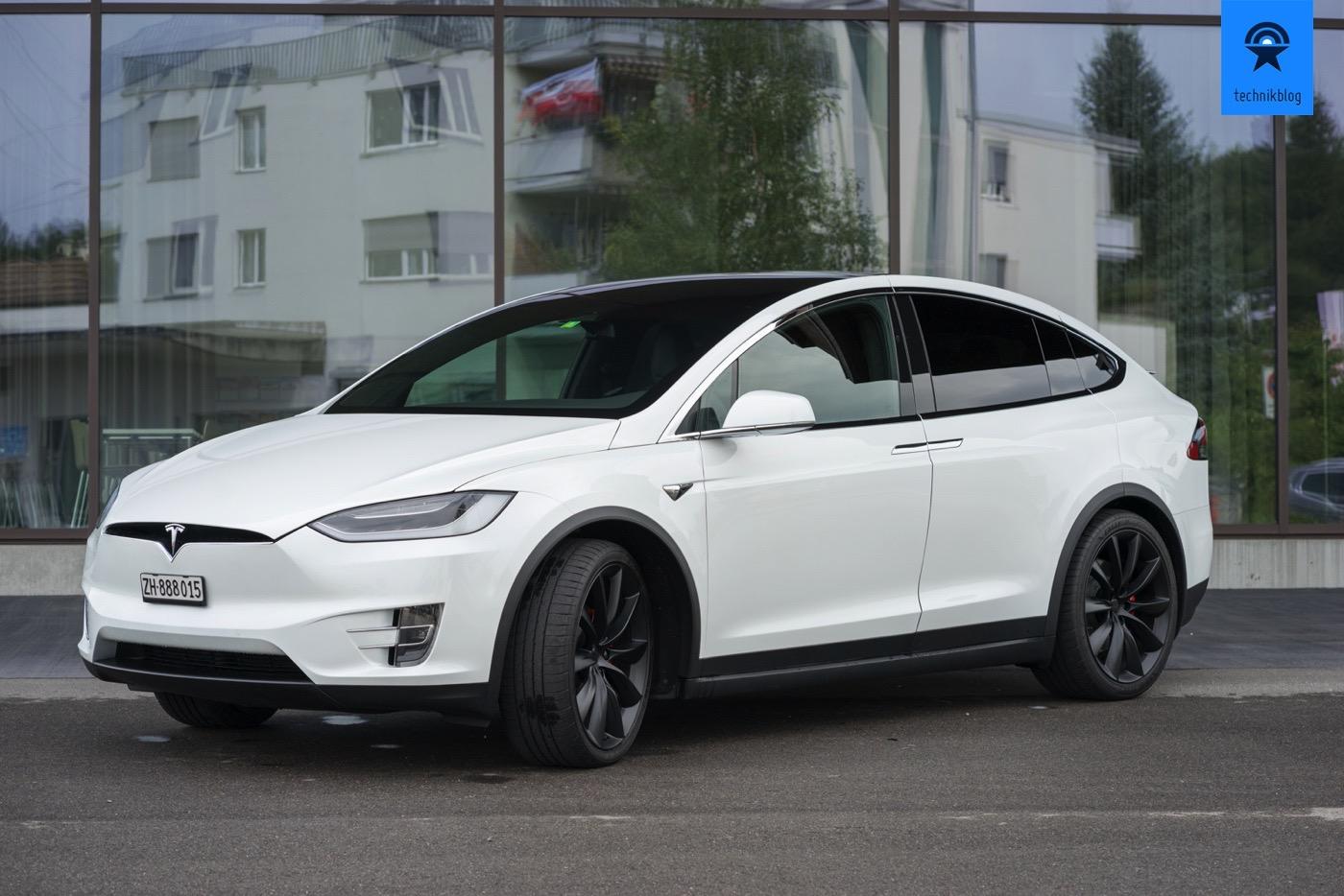 Tesla Model X P100d Im Test Power Und Hightech Pur