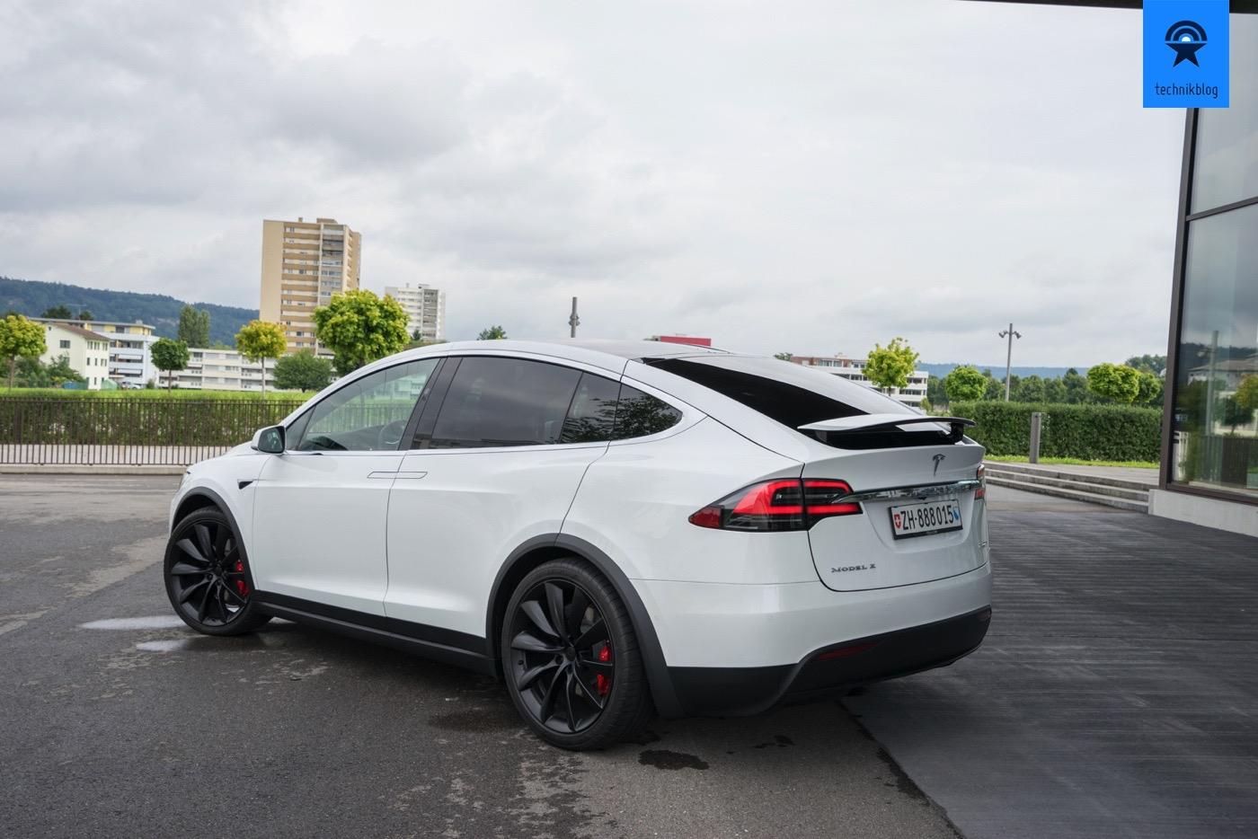 Tesla Model X P100D Test - Fazit