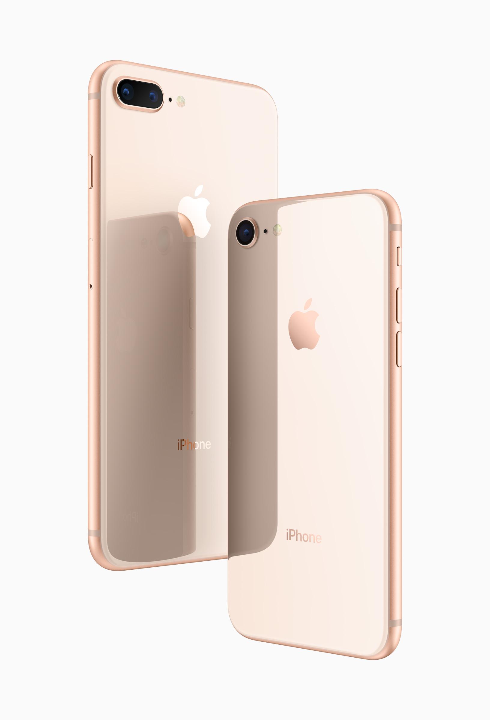 iPhone 8 - Rückseite aus Glas